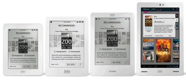 Kobo release Arc, Glo and Mini eReaders - DroidGator
