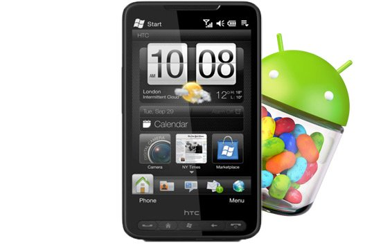 Htc hd2 android jelly bean download for Unofficial jelly bean 4 2 1 available for htc one s and others