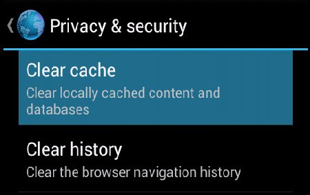 android-browser-cache